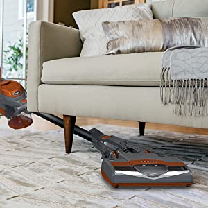 vacuum under furniture, under furniture reach, low profile