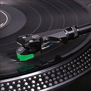 Audio-Technica headshell and cartridge