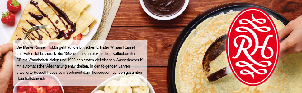 crepes maker russell hobbs