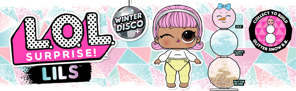 Lol winter disco,lol winter series; lol winter; lol winter disco series; lol surpise winter globe