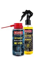 Atlantic Radglanz 500 ml Sprühflasche (4394): Amazon.de