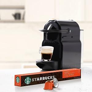 STARBUCKS CAFFÈ VERONA de NESPRESSO Cápsulas de café de tostado intenso, 8 x tubo de 10 unidades
