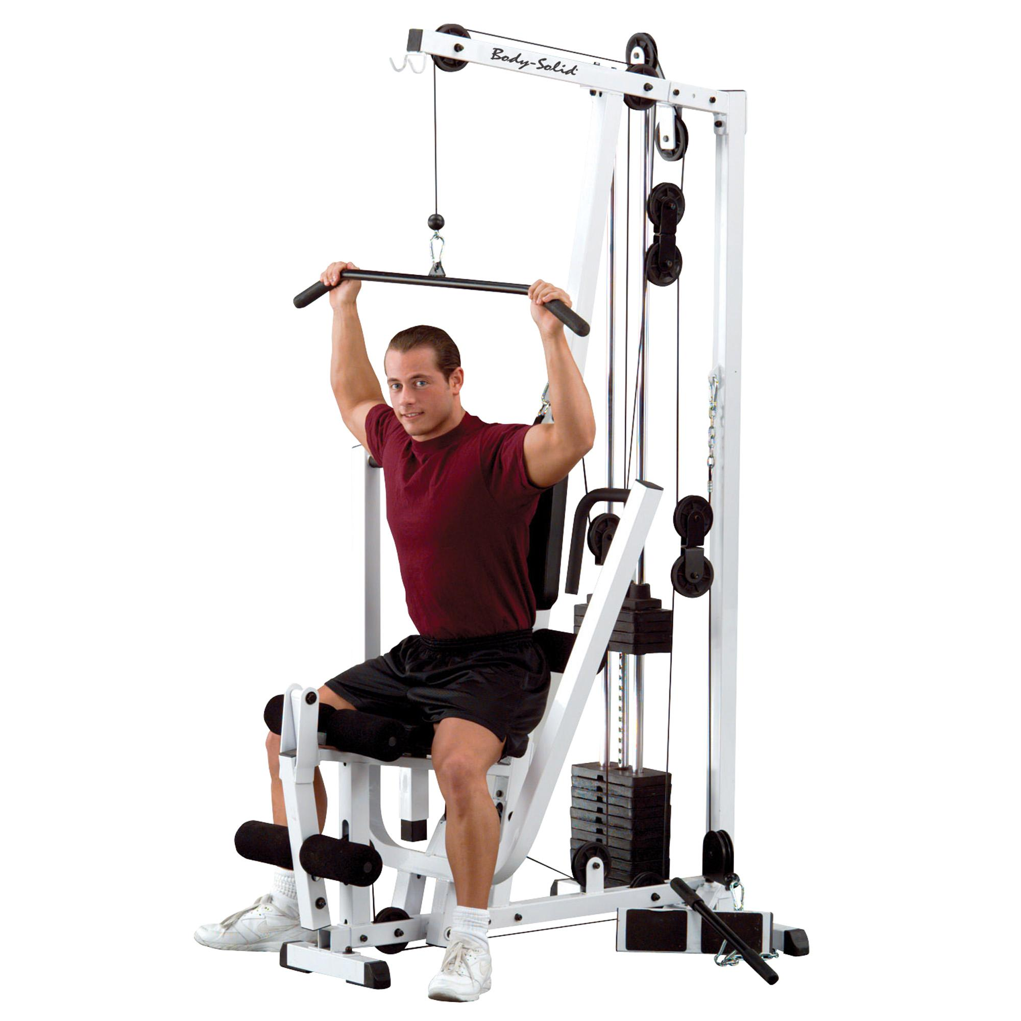 Amazoncom Body Solid EXMS Single Stack Home Gym Sports - 20 problems every gym goer can relate