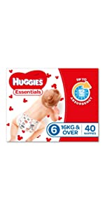 Huggies Essential Nappies