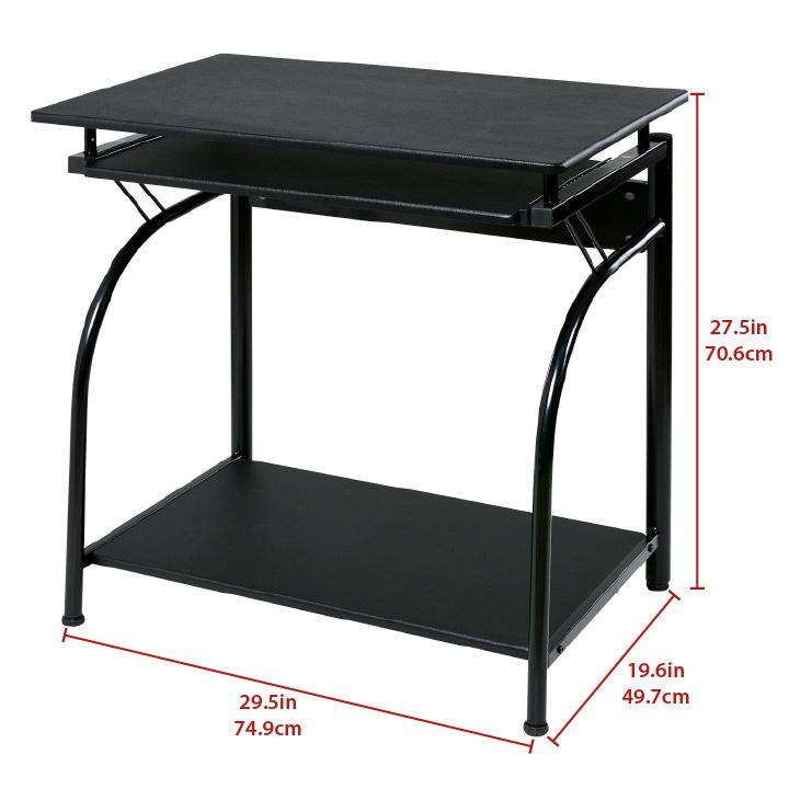 Amazon Com Onespace Stanton Computer Desk With Pullout