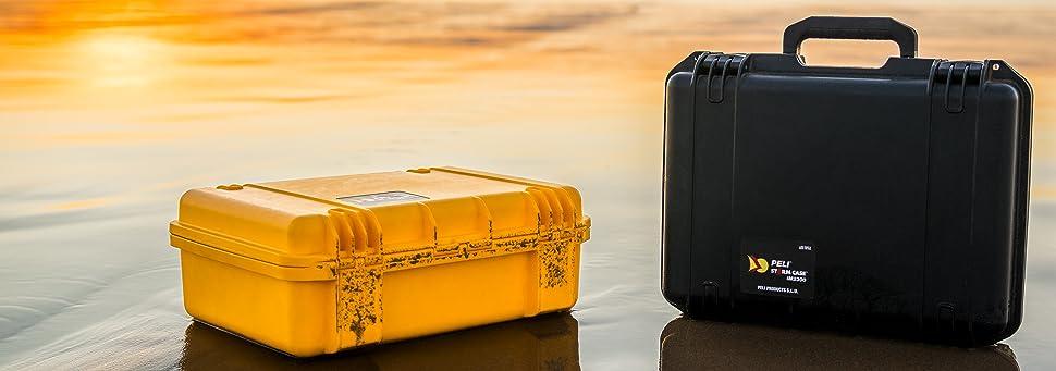 fabriqu/ée aux /États-Unis drone et autres /équipements fragiles avec insert en mousse personnalisable, PELI Storm IM2300 valise pour cam/éra capacit/é de 27L /étanche /à leau et /à la poussi/ère