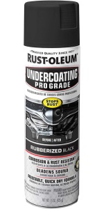 Professional Grade Rubberized Underbody Rust Resistant Paint
