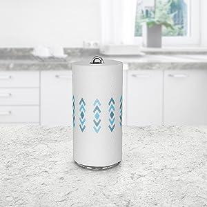 paper towel roll holder bulk stand display dispenser table counter bathroom