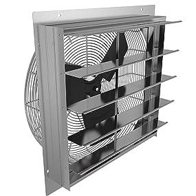 Fantech 2she0721 Axial Wall Shutter Fan Direct Drive 1