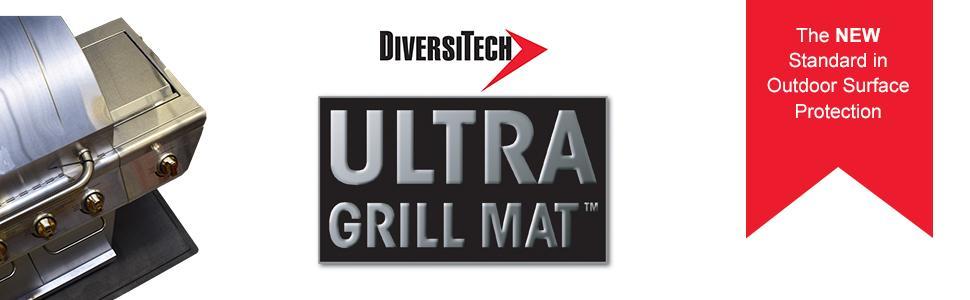 Protects Decks an... Diversitech ULTRA  Outdoor Gas Grill BBQ and Fire Pit Mat