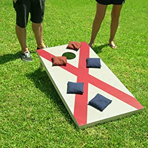 gosports cornhole bean bags toss game adults kids wooden boards tailgate yard games family gamenight