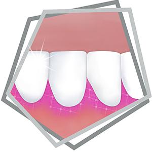 Helps keep gums healthy