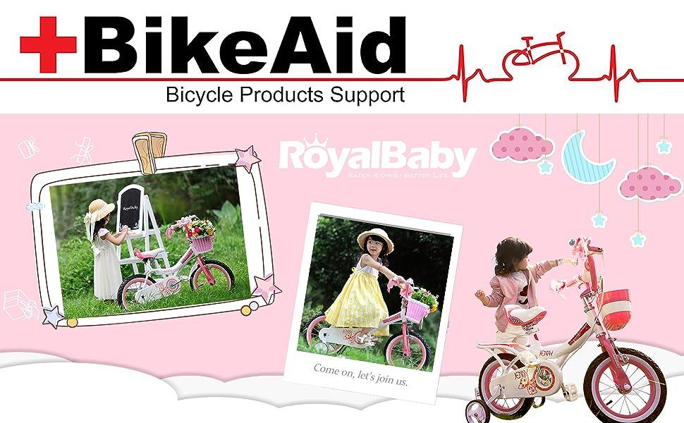 royalbaby jenny bunny girls kids bike