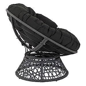 Black cushion and Black Frame