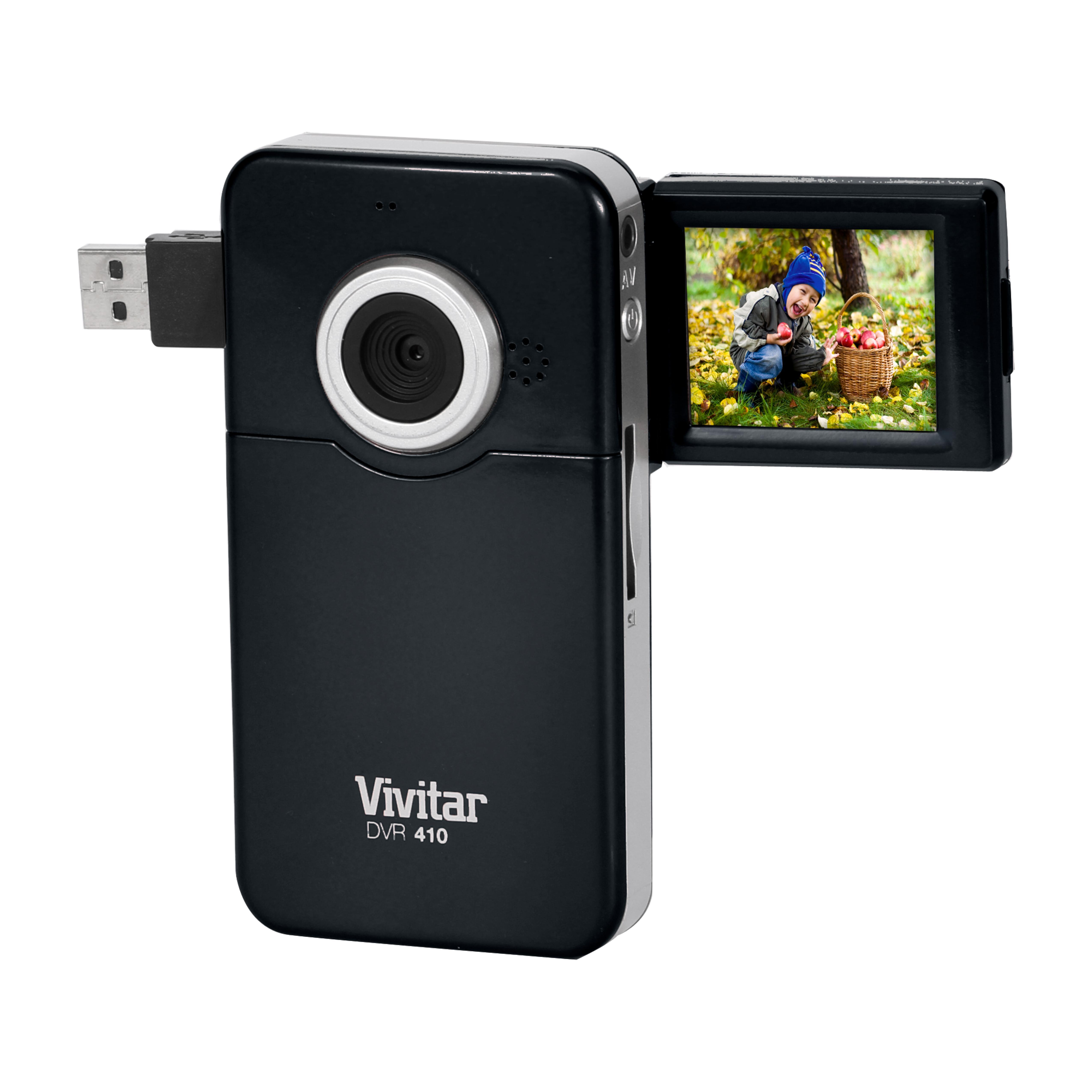 vivitar 410 8 1mp 720p high definition digital video camera camera photo. Black Bedroom Furniture Sets. Home Design Ideas