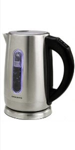 Stainless Steel Electric Kettle with Touch Screen Panel