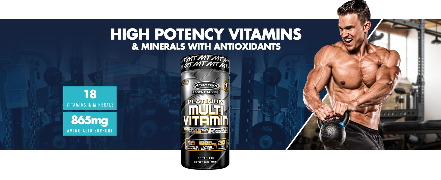Multi-vitamin, muscletech