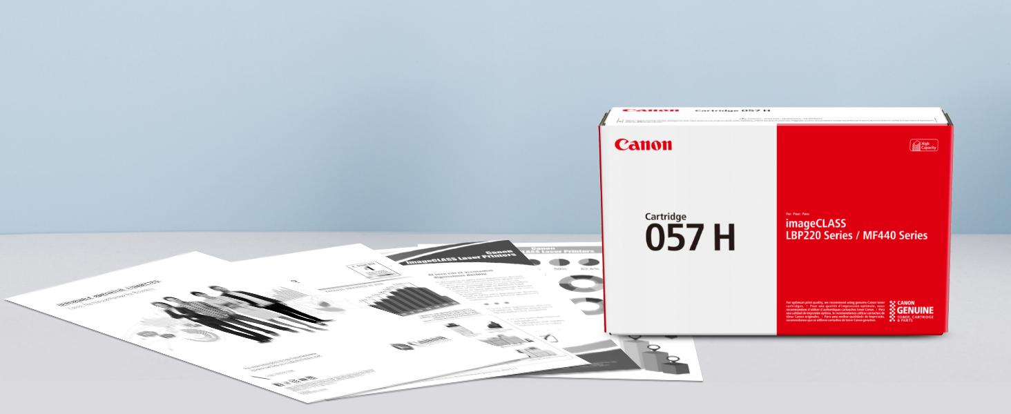 canon toner, laser toner, lbp226dw, mf445dw, printer toner, toner 057 h, 57 h toner, xl toner
