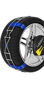 Chaines FAST GRIP MICHELIN;chaines a neige frontales;vehicule non chainable;chaines araignees