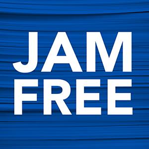 Stapler is jam free