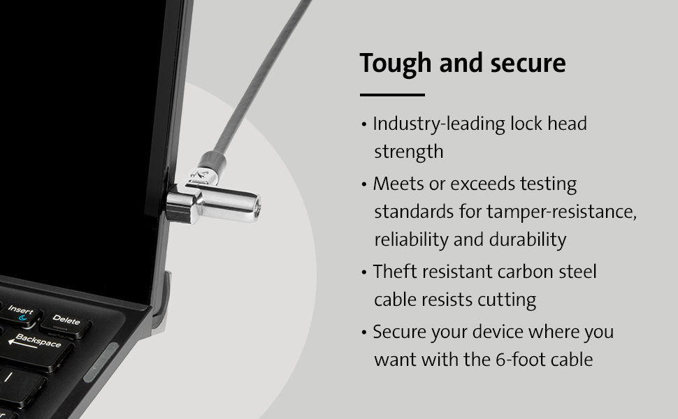 K64440WW - N17 Keyed Laptop Lock for Dell Devices