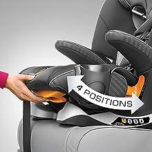 9-Position Headrest
