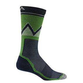Wigwam Mens Point Reyes Lightweight Outdoor Peak 2 Pub Crew Sock Wigwam Men/'s Socks F2519