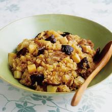 圧力鍋 あつりょくなべ 鍋 時短 おこわ 中華風 炊き込みご飯 ご飯 簡単 レシピ もちもち 3分 もち米 中華風 ちまき 蒸し ごはん 米