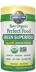 perfect food greens powder