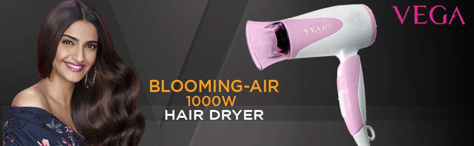 VEGA VHDH-05 BLOOMING AIR 1000W HAIR DRYER