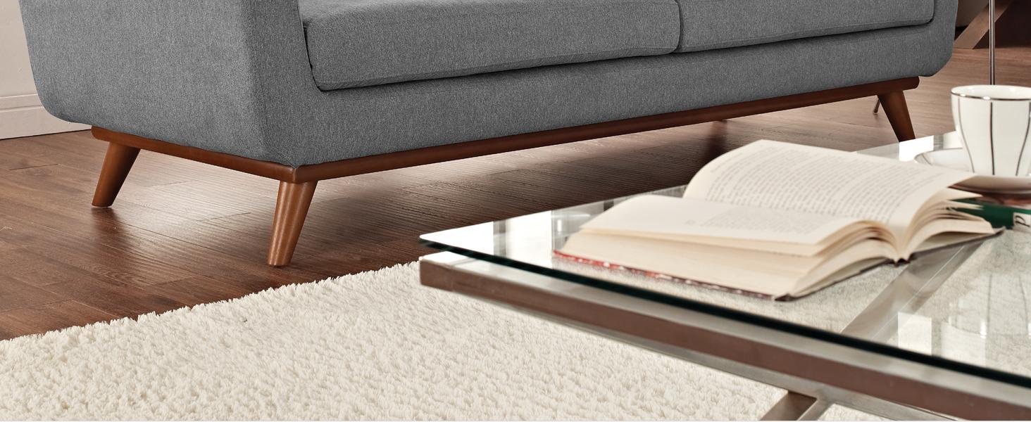 Amazon.com: Modway Engage - Sillón de madera, Poliéster ...