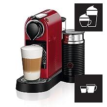 Espresso, Lungo and different milk-based recipes
