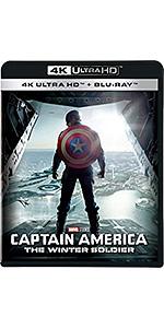 キャプテン・アメリカ/ウィンター・ソルジャー 4K UHD