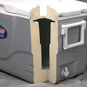 ice coleman lunch can drinks box camping picnic food storage outdoor