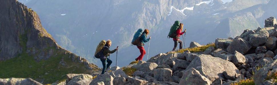 Trekking; Fernwanderung; Mehrtagestour; Wandern; Hiking; Trekken; Rucksack; Deuter