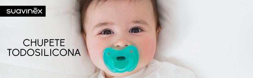 Suavinex - Chupete para dormir todo silicona para bebés 0/6 meses ...
