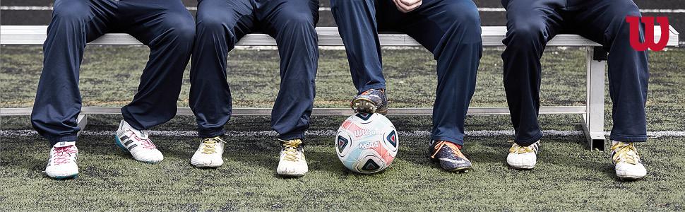 Wilson WTE8735XB05 Pelota de fútbol Traditional, para Adolescentes ...