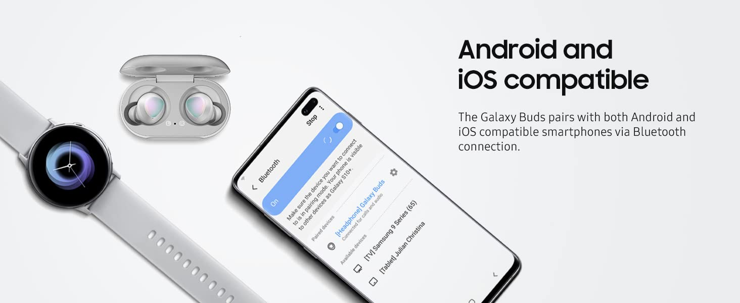 Samsung Galaxy Buds - Android and iOS compatible