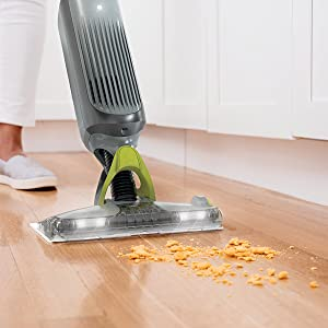 Vacuum mop with powerful suction