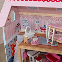 KidKraft Puppenhaus Chelsea: Amazon.de: Spielzeug