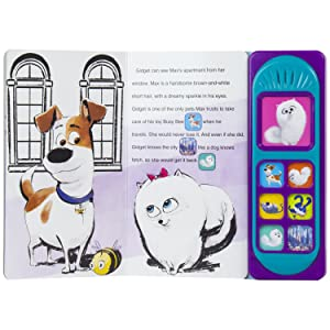 sound,book,toy,toys,picture,pi,kids,p,i,children,phoenix,international,publications,secret,life,pets