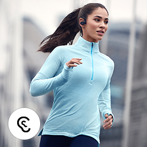 Enjoy an active lifestyle with secure-fitting earbuds, thanks to Earwings and Earhooks.