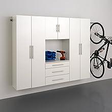 """HangUps 90"""" Storage Cabinet Set G - 4 pieces"""