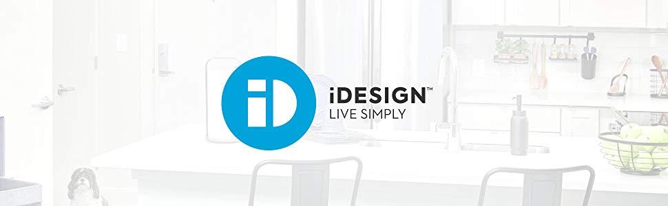 ID iDesign header bannière amazon page A+ live simply vivre simplement solutions pratique rangement
