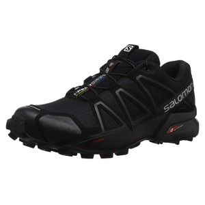 Salomon Speedcross 4 Zapatillas de Trail Running Black: Amazon.es ...