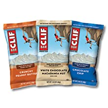 CLIF BARS CRUNCHY PEANUT BUTTER BLUEBERRY CRISP WHITE CHOCOLATE MACADAMIA NUT ENERGY BAR