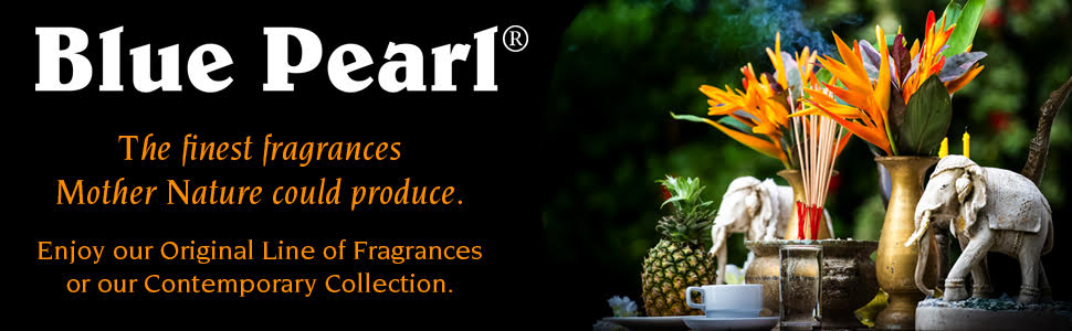 Blue Pearl Incense - The finest fragrances Mother Nature could produce.
