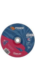 "9"" Tiger AO Cutting Wheels"