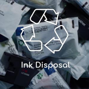 inkjet disposal