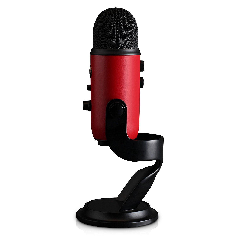 Usb Microphones Amazon : blue yeti usb microphone satin red musical instruments stage studio ~ Russianpoet.info Haus und Dekorationen